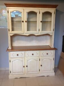 Lighted china cabinet for sale
