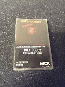 bill cosby for adults only audio cassette