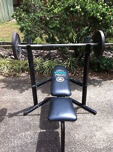 Bench Press, Bars and 143kg in weights Everton Hills Brisbane North West Preview