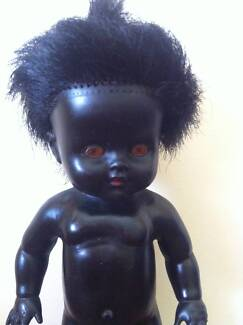PEDIGREE - Black Rubber Collectors Doll Wavell Heights Brisbane North East Preview
