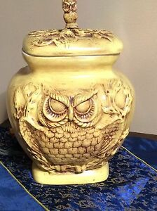 Vintage/retro Owl Cookie Jar. Super Cool