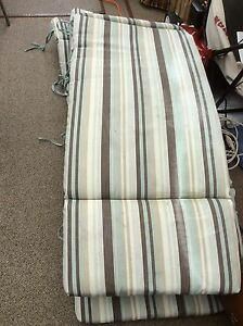 Lounger pads and chair cushions