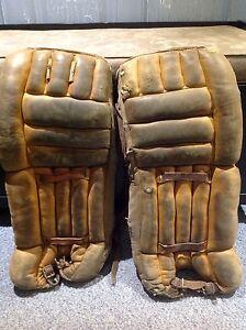 Vintage Cooper Goalie Hockey Pads