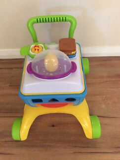 Kids shopping trolley walker with sounds