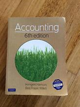 ACCOUNTING TEXTBOOK 6TH EDITION Palmwoods Maroochydore Area Preview
