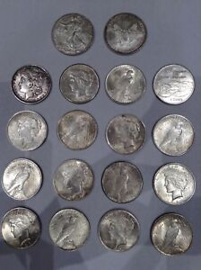 Authentic Set of American Silver Dollars!!!