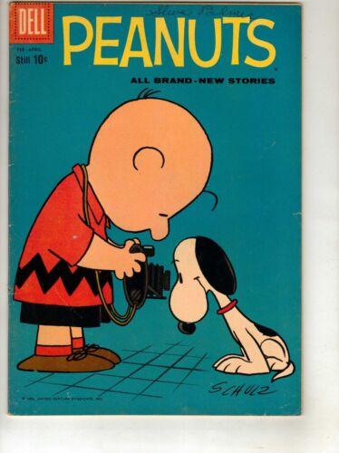 Peanuts Comic Book #4 Feb-Apr 1960, Dell-SCARCE ISSUE NM 75% PRICE CUT