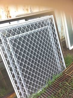 WHITE  POWDER  COATED  SECURITY  SCREENS  FROM $70.00 Logan Reserve Logan Area Preview