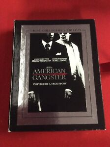 American Gangster 3 disc Collectors Edition DVD