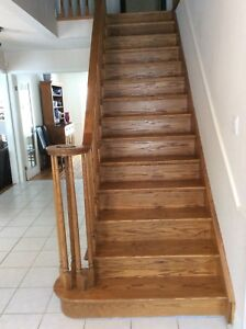 STAIRCASE STAINING AND PAINTING SERVICES