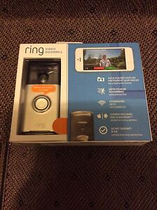 Ring video door bell retail for 249.99 asking $150