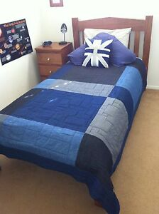King Single bed frame and mattress. Islington Newcastle Area Preview