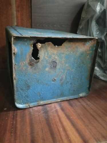 Chernobyl PRIPYAT metalic Mail-Box with gerb Original USSR Post office