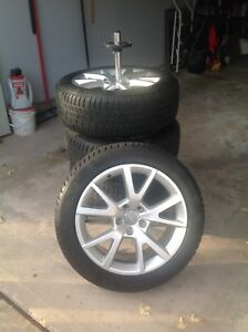 "18"" Winter Tires on Alloy Rims"