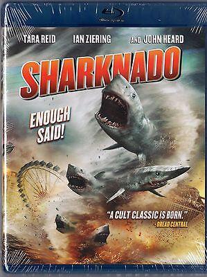 Sharknado [Blu-ray]  Man eating sharks in Los Angeles  BRAND - Shark Sci Fi Movies