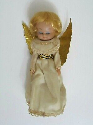 Vintage Mid Century Christmas Angel Tree Topper 10""