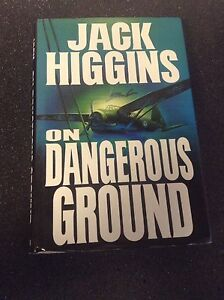 *First Edition* On Dangerous Ground by Jack Higgins