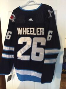 Jets Jets hockey jersey - Wheeler #26