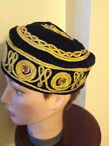 Vintage Hand made Embroidered Tibets Hat. Caulfield Glen Eira Area Preview