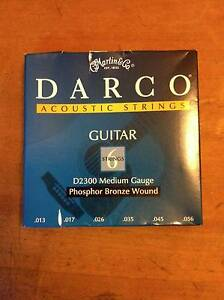 GUITAR STRINGS x 6 sets Acoustic (13-56) Brunswick Moreland Area Preview