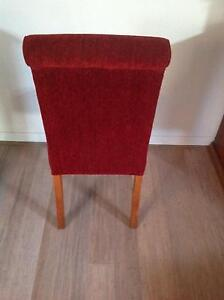 Beautifully Upholstered Dining Chairs - Set of eight Moonee Ponds Moonee Valley Preview