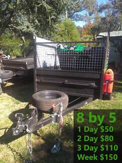 Trailer Rental - 8 by 5 - Drop Ramp Katoomba Blue Mountains Preview