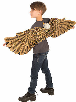 Child Eagle Plush Wings Animal Costume One - Eagle Wings Kostüm