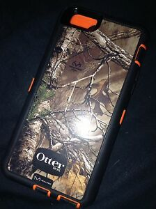 iPhone 6 and iPhone 5s camo otter box cases