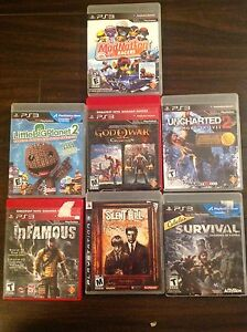 PS3 games. $5 each