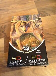HD Wolf Puzzle 500pc