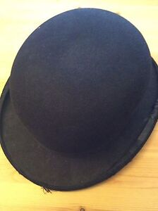 Antique bowl hat made in England
