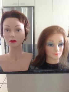 Hairdresser mannequin heads x 2 Cooroy Noosa Area Preview