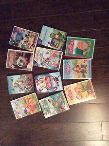 Lot DVD ( Caillou , Mickey .... )