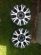 Set of four 17x8 allied wheels Maroochydore Maroochydore Area Preview