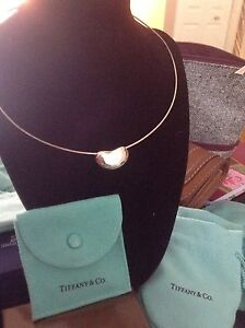 AUTHENTIC TIFFANY VINTAGE BEAN NECKLACE