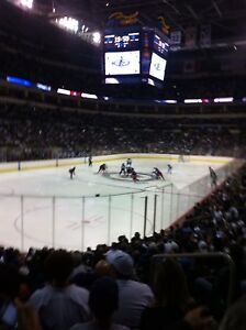 Winnipeg Jets vs Ottawa Senators 2 lower bowl seats