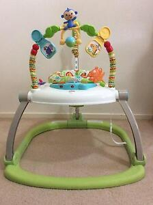 Fisher Price Rainforest Friends SpaceSaver Jumperoo Williamstown Hobsons Bay Area Preview