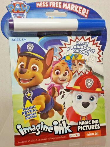 Paw Patrol Imagine Ink Magic Ink Marker & Activity Book w/ Games B220