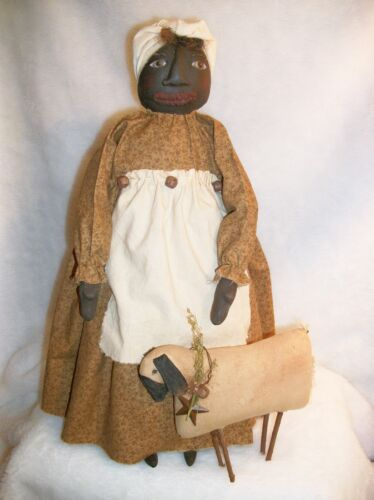 PATTERN,sewing, primitive doll, and sheep, by Dumplinragamuffin #97