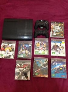 PS3 console and 2 controllers for sale (160gb) Woolloomooloo Inner Sydney Preview