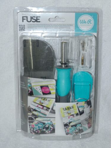 WE R MEMORY KEEPERS PHOTO SLEEVE FUSE - BRAND NEW - SCRAPBOOKING