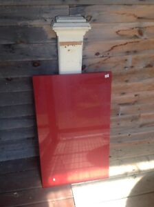 Plaque de quartz rouge