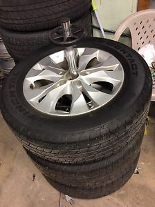 3 x 225 65 r17 Continental CrossContact XL with OEM Rims
