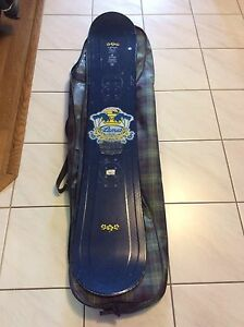"""58"""" Snowboard for sale, with bag"""