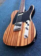 Fender Telecaster LimitedEdition ZebraWood CI Japan Avalon Pittwater Area Preview