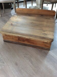 Antique Pine Writing Desk top only