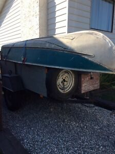 12' Aluminum boat AND motor - trailer NOT included