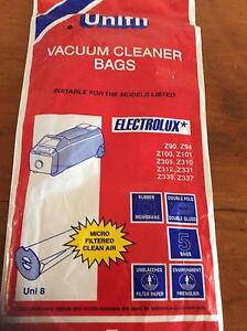 Vacuum cleaner bags fit Electrolux canister vacs Holland Park West Brisbane South West Preview