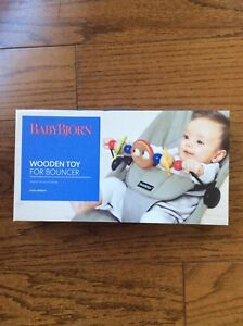 Baby Bjorn wooden toy bar for balance bouncer chair