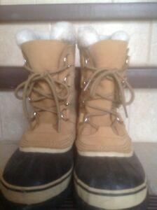 Sorel caribou winter boots women 6